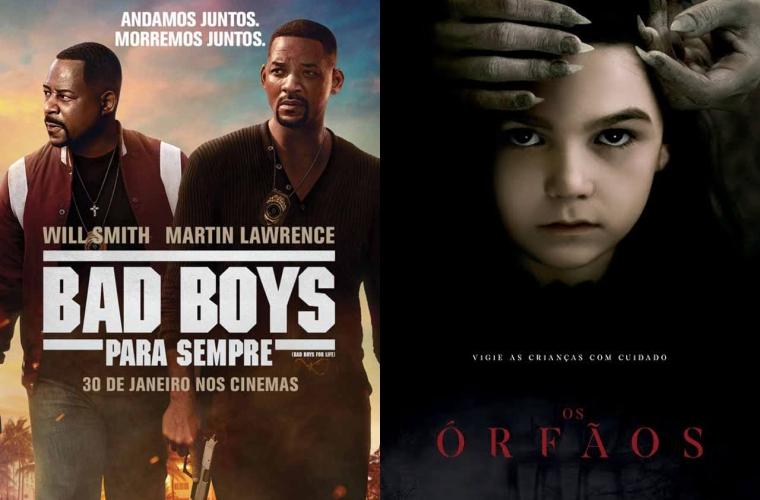 Bad Boys Para Sempre e Os Órfãos são as estreias desta semana no Grupo Cine