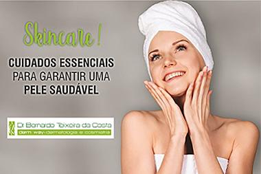 Dr. Bernardo Teixeira   Skincare: tenha uma rotina  de cuidados corretamente.