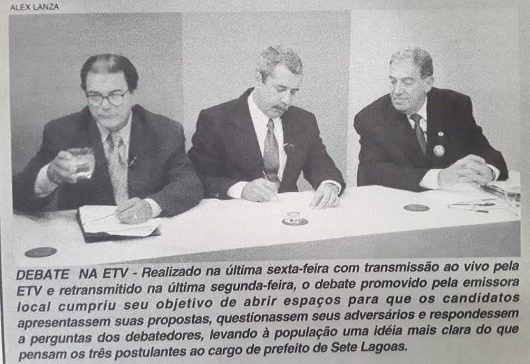Nossa Gente, Nossa História | Debate promovido pela ETV em 2000
