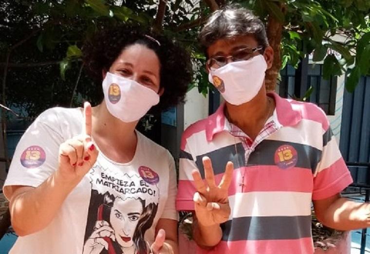 Claudinei Dias e Carol se manifestam sobre resultado da eleição