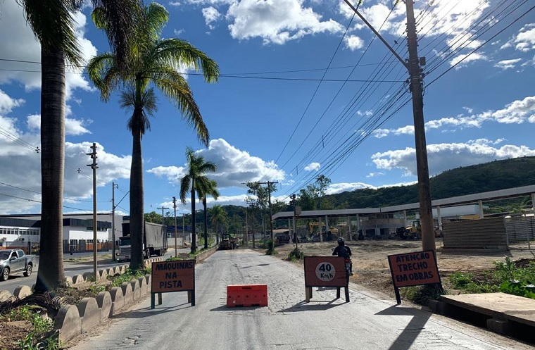 Atenção motoristas: obras na Av. Castelo Branco desviam trânsito para o bairro Eldorado