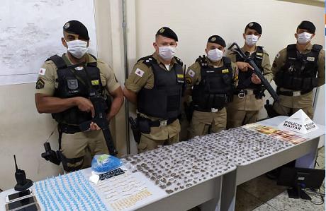 Cocaína, crack e maconha: muita droga é apreendida em Pedro Leopoldo