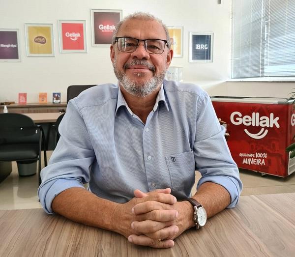 Vagnaldo Geraldo da Fonseca, sócio-proprietário da Gellak