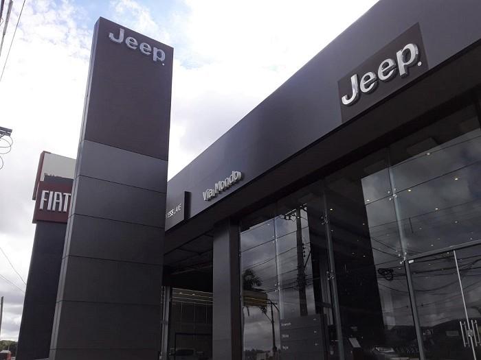 Via Mondo Fiat e Jeep agora em Sete Lagoas