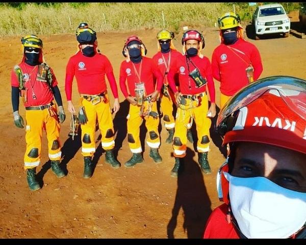 Há dois anos, bombeiros de Sete Lagoas participam de buscas em Brumadinho