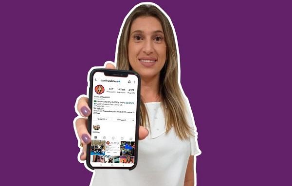 Vereadora Carol Canabrava tem Instagram verificado e ganha destaque nas redes sociais
