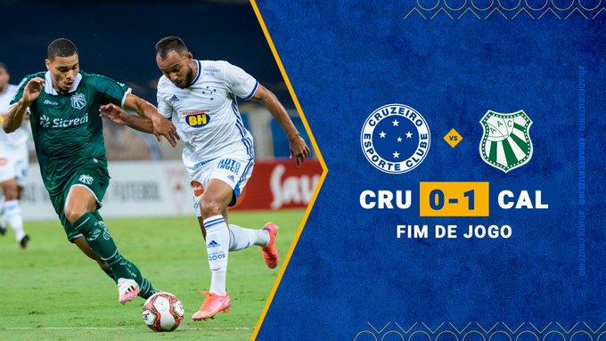 Cruzeiro volta a jogar nada e perde no Mineirão para a Caldense