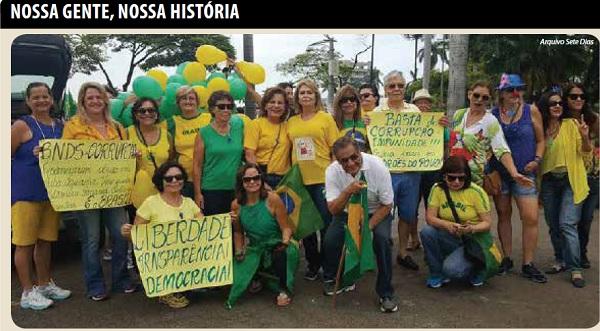 Memória - Movimento pelo impeachment da presidente Dilma Roussef