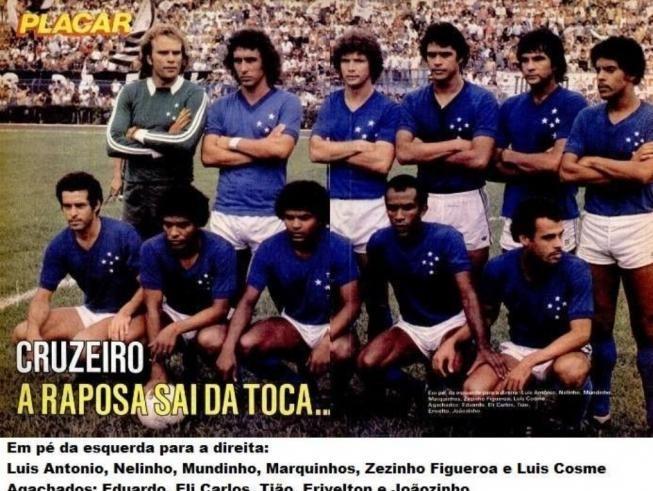 E lá se foi o Mundinho, ex-volante do Cruzeiro entre 1979 e 1981