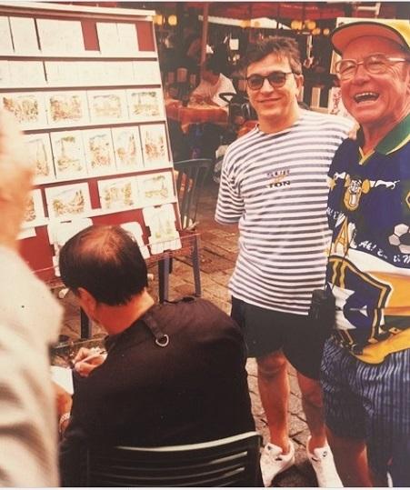 Ecos do Passado - Copa do Mundo da França, em 1998, o diamantinense Wanderlei Guedes, um dos odontólogos mais queridos de Sete Lagoas