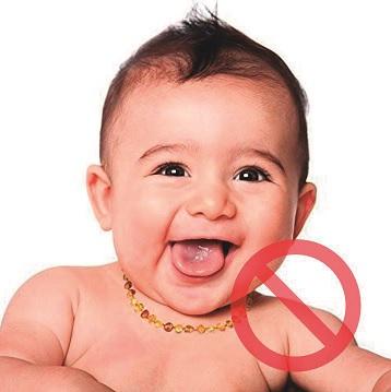 Sobre o colar de âmbar para crianças