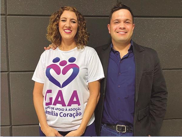 Dez minutos com Luciana Oliveira, presidente do Grupo de Apoio à Adoção Família Coração
