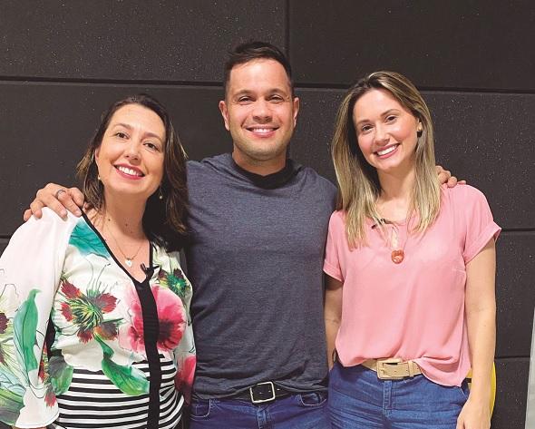 10 minutos sobre o mês internacional da amamentação, com a psicóloga Débora Tussi e a enfermeira Dahiane Rassier