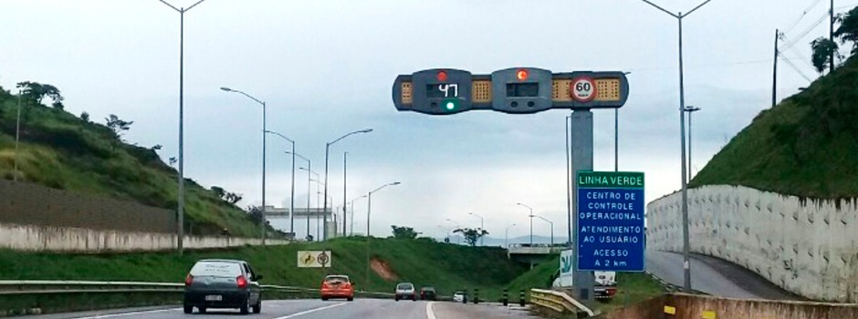 Olho na pista: estradas mineiras receberão 598 novos radares de velocidade