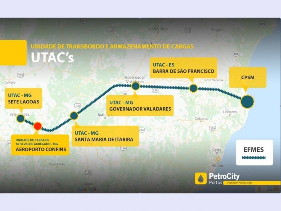 Quatro novas ferrovias passarão por cidades de MG, dentre elas Sete Lagoas e Conceição do Mato Dentro