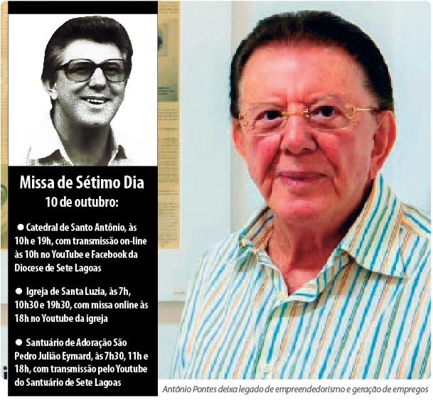 Sete Lagoas segue em luto por morte de Antônio Pontes