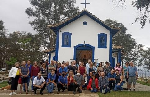 Via Lourdinha Turismo, turistas catarinenses visitamSete Lagoas e se encantam com Serra