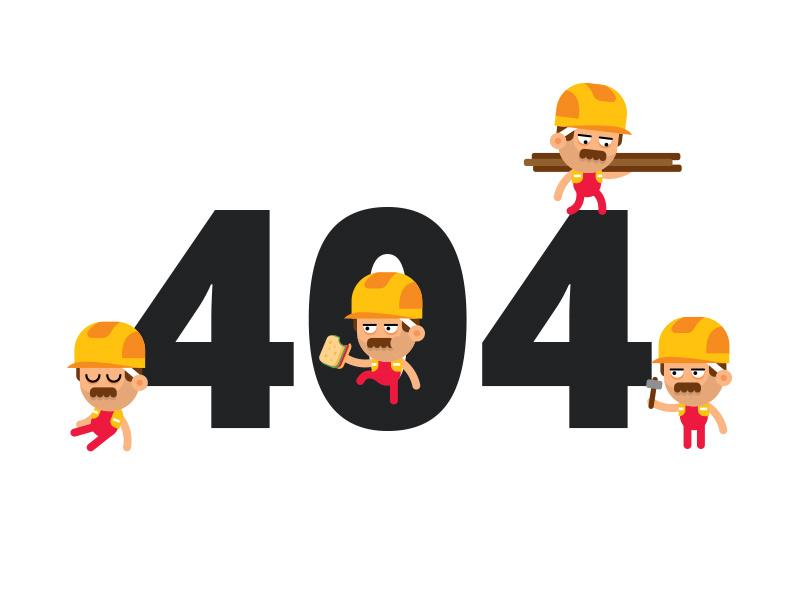 404 página não encontrada