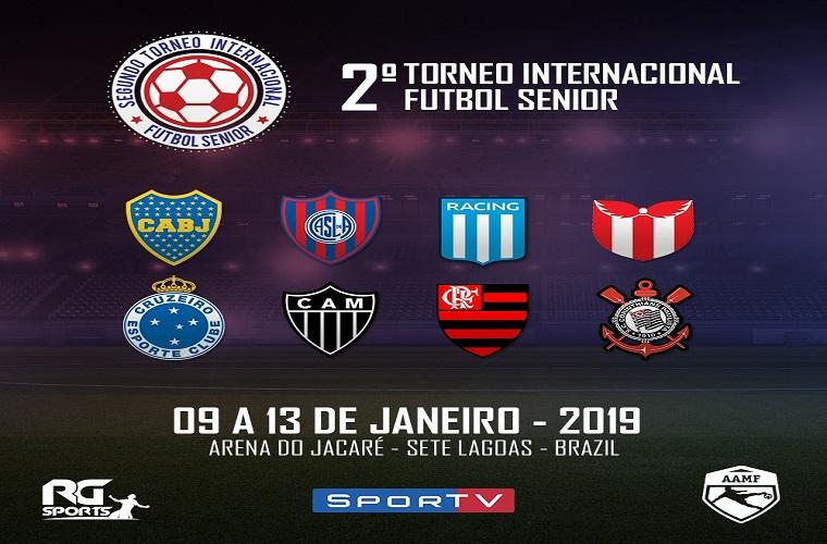 PROMOÇÃO: Torneio Internacional de Futebol Master (concorra a pares de ingresso)