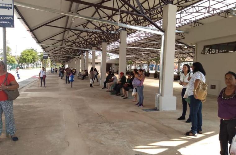 Terminal Urbano de Sete Lagoas volta a receber ônibus e passageiros