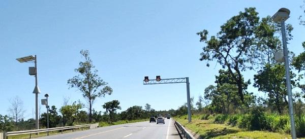 Atenção motoristas: dois novos radares entram em operação sentido Curvelo