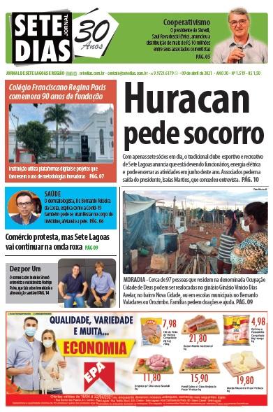 Edição 1520 - Jornal Sete Dias