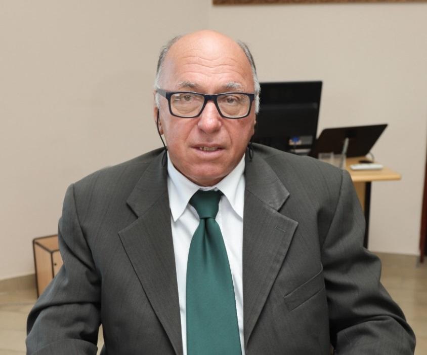 O vice-prefeito Murilo França (MDB) estava com 68 anos