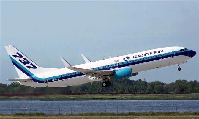 Eastern Airlines voará de Belo Horizonte aos EUA a partir de 28 de junho