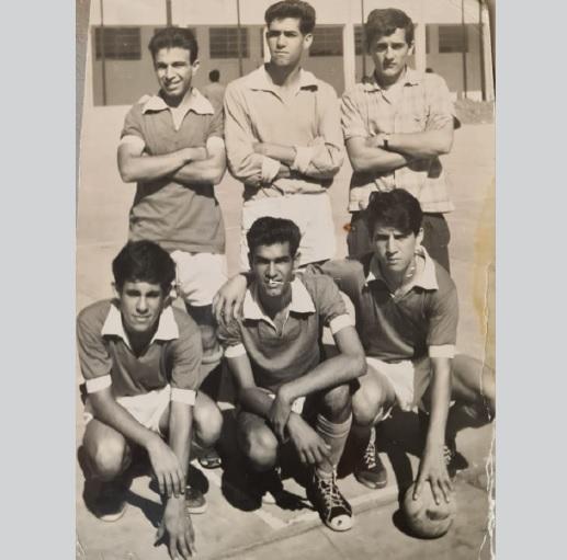 ECOS DO PASSADO - Dudu Libânio no timaço de futsal da Rua Tomé de Souza/Savassi/BH