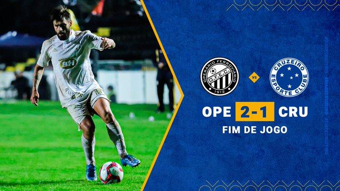Três derrotas em cinco jogos; um empate e uma vitória. O Cruzeiro está fazendo uma campanha bem parecida com a do ano passado