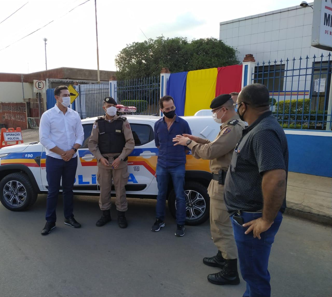 Reforço na segurança da região: Paraopeba, Capim Branco e Funilândia recebem viaturas