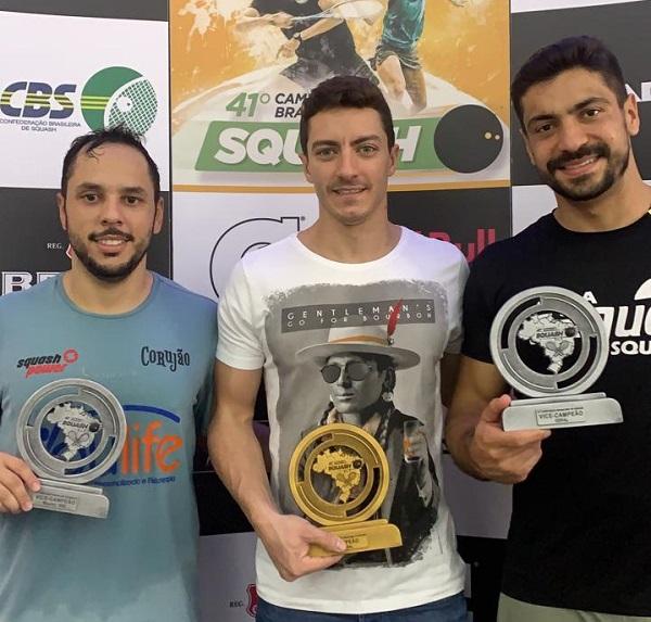 Sete-lagoanos são destaque no 41º Campeonato Brasileiro de Squash
