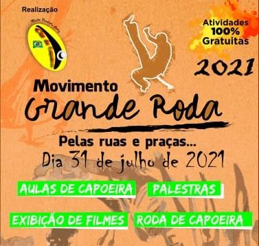 Movimento Grande Roda está de volta, dia 31, na Praça Tiradentes
