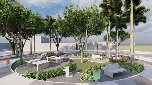 Pracinha do Canaã será revitalizada pelo Rotaract Club Rei do Mato em parceria com Prefeitura