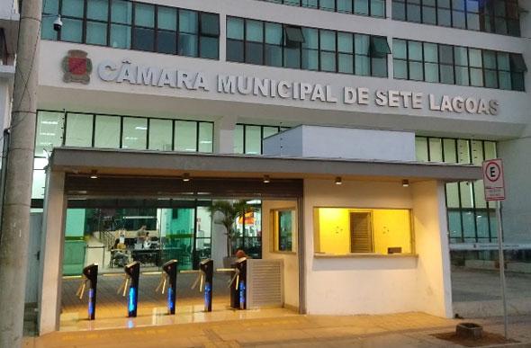 Câmara Municipal de Sete Lagoas.