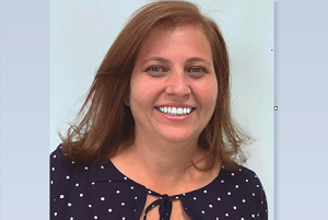 A professora Mônica Abreu, do Coletivo STC