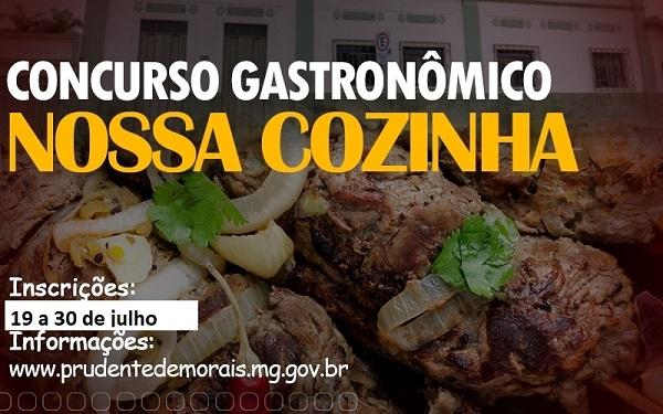Concurso gastronômico busca eleger o prato típico de Prudente de Morais