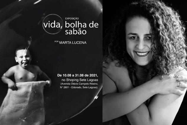 """Fotógrafa lança """"Vida, bolha de sabão"""", no Shopping Sete Lagoas"""