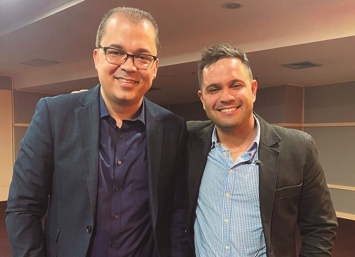 Cleiton Pinheiro e Juninho Sinonô