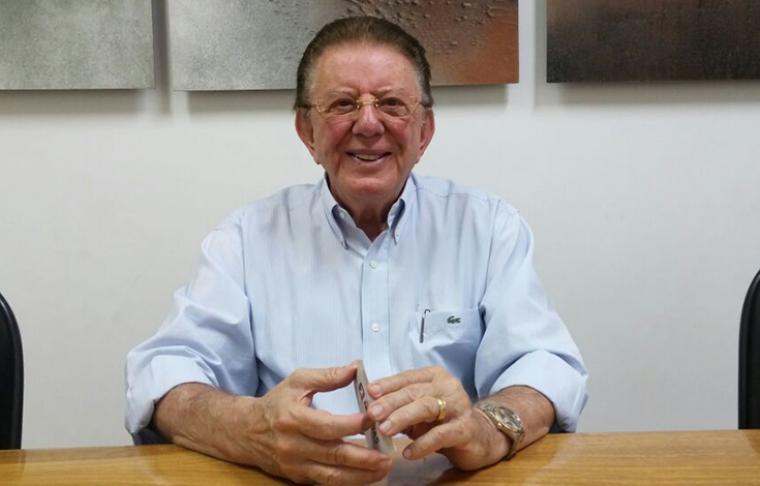 Empresário Antônio Pontes está internado com sequela da Covid-19