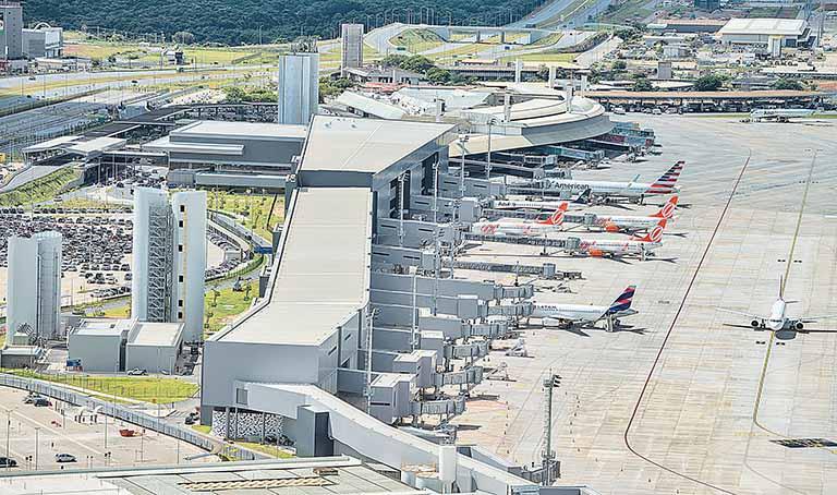 Aeroporto Internacional de BH promove exercício simulado para casos de emergência