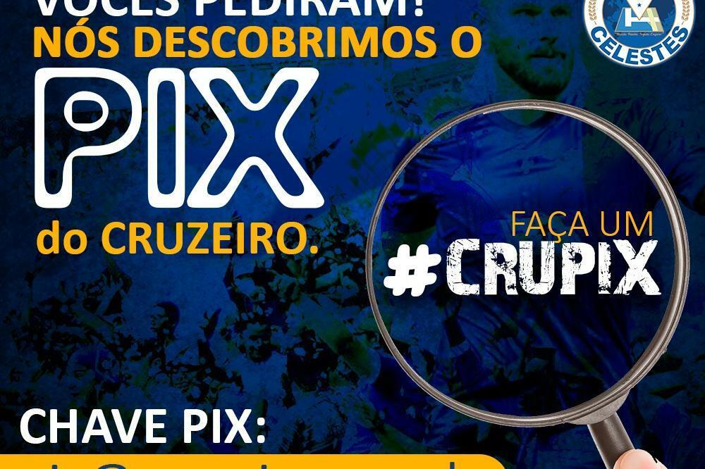 """Cruzeiro presta contas do """"Crupix"""", que não está dando certo, por enquanto"""